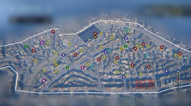 Assassin's Creed Syndicate Полная карта Лондона