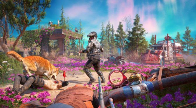 Интерактивная карта Far Cry 5 New Dawn