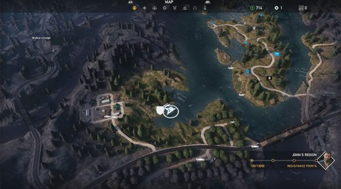 Полезные карты в игре Far Cry 5, охота, рыбалка, бункеры, алтари