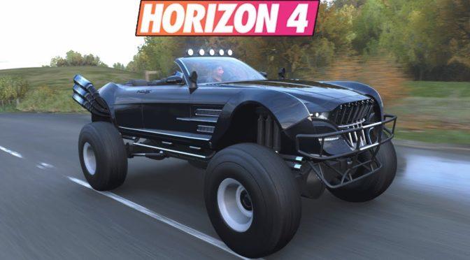 Forza Horizon 4 — Quartz Regalia Type-D Бигфут или монстр трак в игре