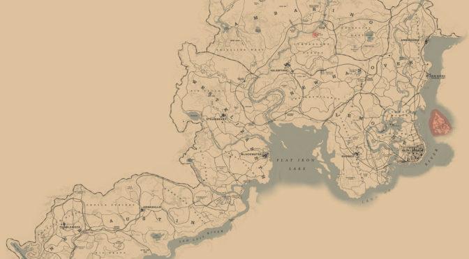 Интерактивная, самая полная карта для Red Dead Redemption 2
